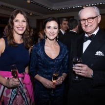 Kristy Katavic, Prue Bindon and Judge Warwick Neville