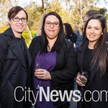 Lauren Sullivan, Cara Thurston and Emma Smith