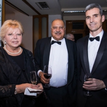 Maria Doogan, James Sabharwal and Glenn Theakston