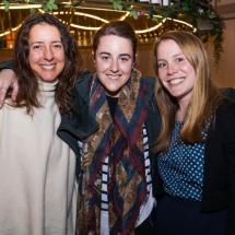 Meria Rivarola, Lydia Monzo and Jen Plaistowe