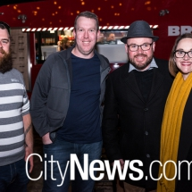 Nathan Kell, Mark Dowell, Jason Eyles and Sarah Turner