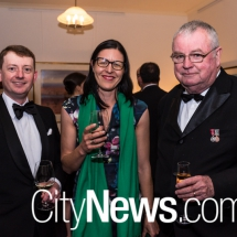 Peter Kelly, Meaghan D'Arcy and Dr Stephen Kendal