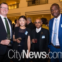 Robert Shelton, Kelly Yu, Prabir De and George M Azumah