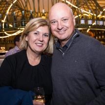 Sandra Smith and Greg Martin