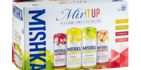 Mishka mixed vodka