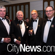 Simon Cullen, Richard Caesar-Thwaytes, Peter Radtke and Vern Gallagher