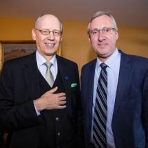 Thomas Albrecht and Lars Backström