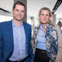Thomas Deutsch and Diana Haszonics