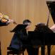 """Night Songs""... from left,  Robert Harris viola, Alan Hicks, piano and Jill Sullivan, mezzo-soprano."