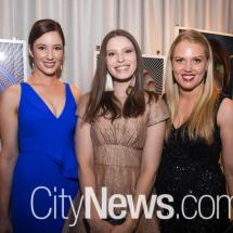 Amanda Dixon, Jennifer Garrick and Clare Griffis
