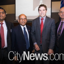 Anil Gupta, Rakesh Malhotra, Alistair Coe and Steven Pickard