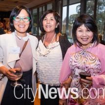 Cindy Kwan, Sue lovanic and Joo Siew Chuang