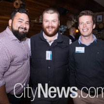 David Jordan, James Feeney and Ben Comfort