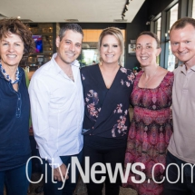 Dot Barclay, Justin and Kerrie Bisa and Amy and Matt Fletcher