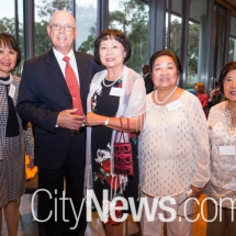 Hung Osborne, Dr Peter and Nicole Tucker, Linda Gaa and Leonor Amano