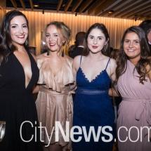 Isabelle Ileris, Erin Bailey, Anastasia Dimopoulos and Jillian Van Leeuwen