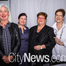 Judith Spence, Deb Kindermann, Annette Ellis and Sylvia Nuttall
