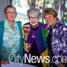 Mary Pedersen, Norma Bradley and Marilyn Ward