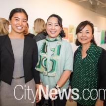 Moe Sakia, Kazuko Sakamoto and Sumie Davies