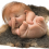 """Newborn"" (2010) by Patricia Piccinini from silicone, Forton, steel, human hair and possum pelt."