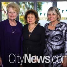 Sandie Kaine, Amelia Favretto and Brenda Watts