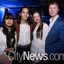 Sarina Hossain, Nicholas Kochinos, Olivia Mennie and Hayden Dummett