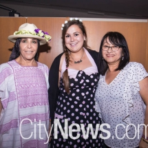 Blanca Mejia, Kim Fernandez and Lucy Prieto