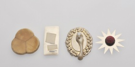 Brooches  in White Christmas