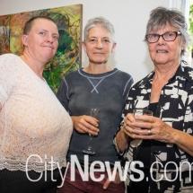 Christine Barnsley, Nicci Haynes and Kerry Johns