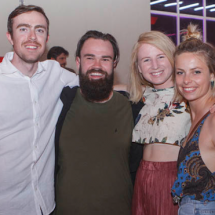 Finn McGouahh, Allan Medovey, Anna Trundell and Momka Styles.