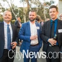 David Harvey, Nicholas Jeffrey and Adam Gastineau