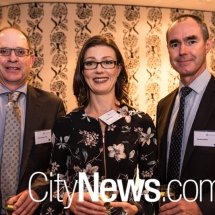 David Sturgiss, Natalie Francis and Reuben Bettle