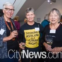Elizabeth Moore, Kelly Hughes and Robin Sevenoaks