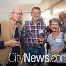 John Reid, Don Dornan and Carol Cockburn