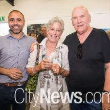 Joseph Falsone, Suzie Campbell and Ben Grady