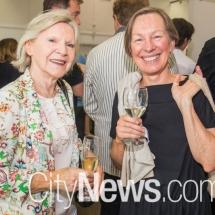 Judy Forsyth and Carol Cains
