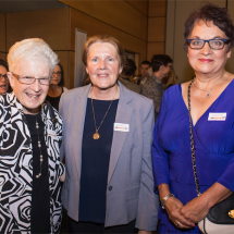 Judy Kenny, Cathy Richardson and Sonja Vaughan