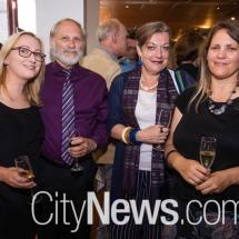 Katy and Ken Mutton, Deborah Clark and Waratah Lahy