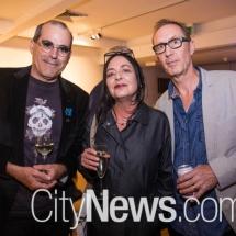 Neil Hobbs, Eva Hesse and Mal Evich