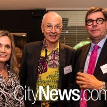 Renee Le Grande, Dr Karl Kruszelnicki and John Karbowiak