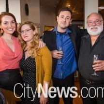 Sarah Mason, Gabrielle Affleck, John Lombard and Len Power