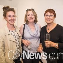 Thea Shelley, Tiffany Royds and Vicki Brown