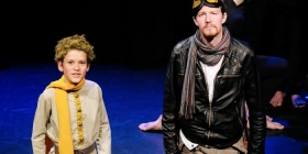 Ziggy Nock as the Prince and Rohan Vicars as the Aviator
