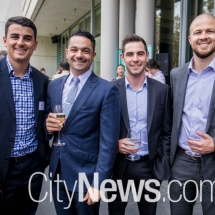 Alex Moulis, Frank Giorgi, Geoff Dimarhos and Jonathan Stone