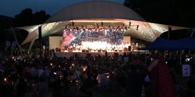 Carols by Candlelight last year