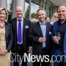 Fiona Godfrey, Nathan Munro, Bruce Penglis and Marcus Graham