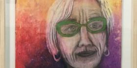 Inverell artist Carolyn McCosker's portrait
