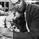 "Jimmy Stewart in the 1947 film ""It's a Wonderful Life""."