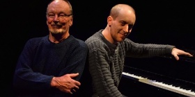 John Bell and Simon Tedeschi in 24th Canberra International Music Festival, photo L Spirovski