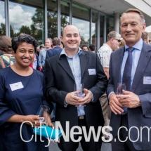 Shoba Cole, Chris Ward and Andrew Balmaks
